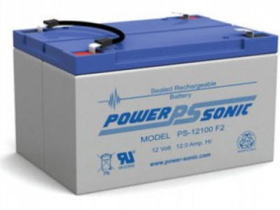 Powersonic PS-12100 12 Volt  12AH F2