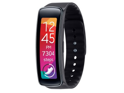 MISC Samsung Gear Fit Charcoal BLK