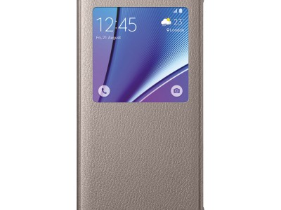 Flip Cover Samsung #6072 Note 5 GLD
