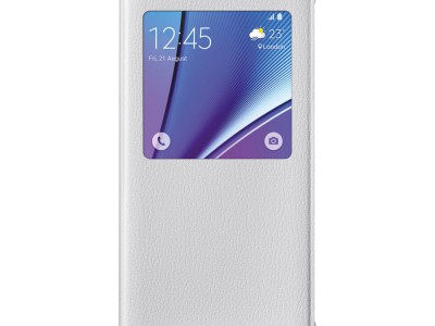 Flip Cover Samsung #6076 Note 5 WHT